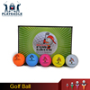 Crystal Outdoor Sport Golf Balls Game Training Match Competition Rubber Golf Ball Sand Wind Tunnel