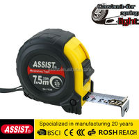 ASSIST 3M / 5M / 7.5M / 10M Stainless Steel Measuring Tape Tailor Tape Measure Function Of Measuring Tools