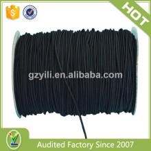 Quality-assured black high resilience elastic cord