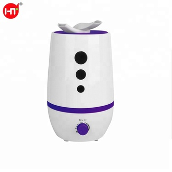 Double nozzles HTJ-2052 2.8L Capacity Cool Mist Humidifier Home Super Facial Ultrasonic Water Mist Air Purifier Aroma Available