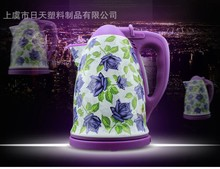 360 degerees rotating base best quality enamel hot water kettle