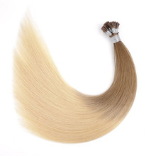 First-rate quality virgin unprocessed I tip hair 100% ombre color brazilian human hair extension