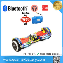 2017 most popular New product UL2272 2 wheel hoverboard with samsung battery two wheels self balancing scooter with handle
