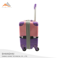 Shanghai Lightweight ABS Plastic Cover Travel Trolley Luggage