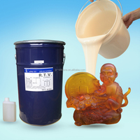 Urethane crafts Urethane gifts casting RTV2 silicone rubber with 0.5kgs free sample