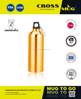 New Design 750ml Vacuum Flask Stainless Steel Sport Bottle Coffee Mugs Hot Water Bottle With A Mountaineering Buckle