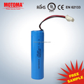 MOTOMA 18650 rechargeable litium batteries