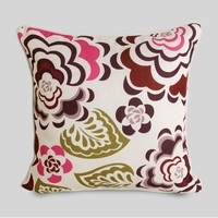 Doll house decoration printed flower rustic pillow case handmade