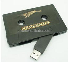 cool custom 16gb usb flash pen drive, cassette tape usb flash drive