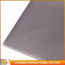 China supplier sand blasted finish 430 stainless steel sheet for advertisement nameplates