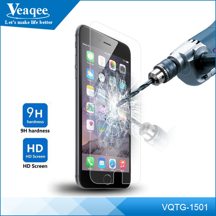 Veaqee 9H 2.5D Tempered Glass Screen Protector for iPhone 6 6s plus