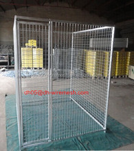 Hot dipped galvanized dog kennel fence panel/welded wire mesh dog kennels