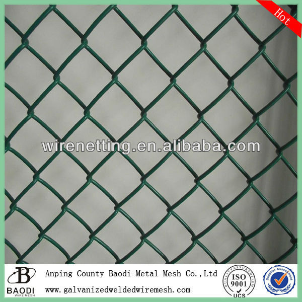 woven indoor tree vinyl clad chain link fence