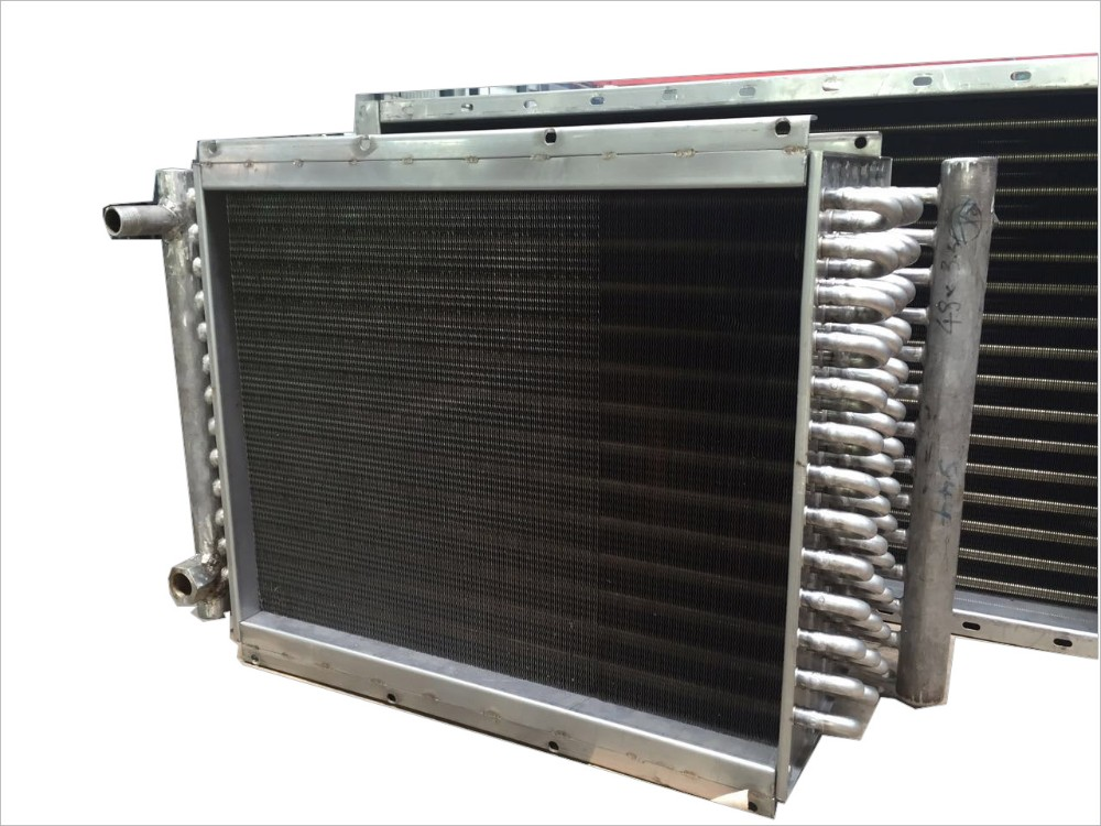 Aluminum fin water radiator for Air Cooler from factory