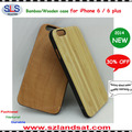 2015 New and wholesale wooden case for iphone 6 wooden cases IPC363