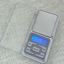 Pocket Digital Jewelry Scale Weight 500g x 0.1g Balance Gram