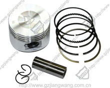 Hot Sell Motorcycle Spare Parts For Piston Set EN125 and WY125 and GY6125 and JY110 and YBR125 and WS110 and BAJAJ CT100