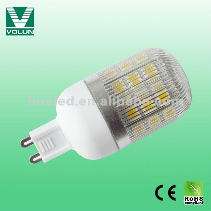 led cabinet bulb G9 48leds SMD32528 ,dimmable led g9