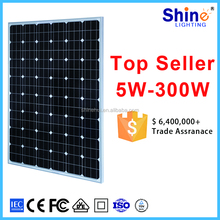 100w 200wp Polycrystalline Silicon Material and 1640*992*40mm Size cheap monocrystalline solar panel 250wp 300 watt
