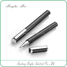 short heavy metal refillable luxuries signature roller tip pen 0.5mm rollerball gel pen