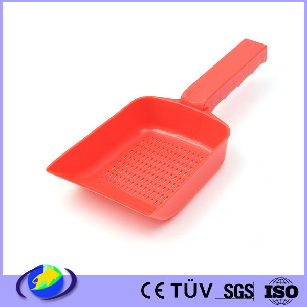leaking sand shovel scra per injection molding scoop pan for cleaning plastic tools customized supplier