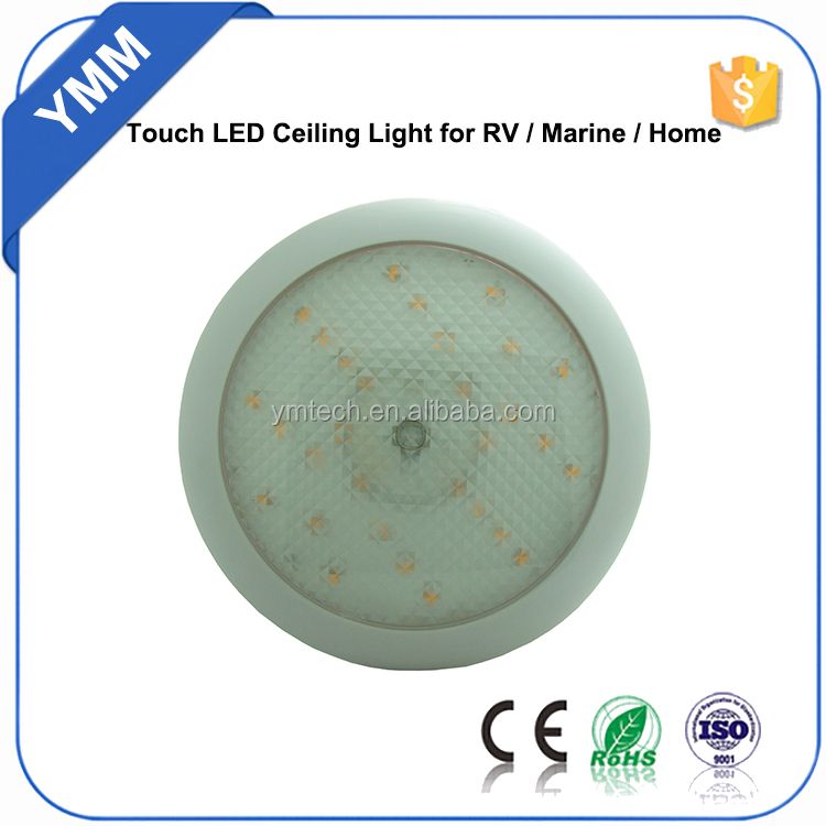 Touch control waterproofled circle ring led lights for Motor Homes