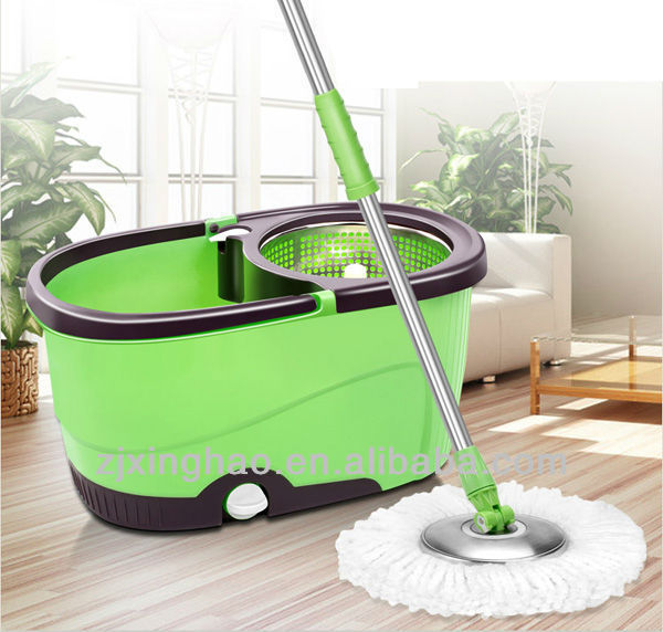 SCOPA CENTRIFUGA MOCHO MAGIC MOP STRIZZA SECCHIO LAVA PAVIMENTI CASA EASY MOP Kitchen Clean Tools