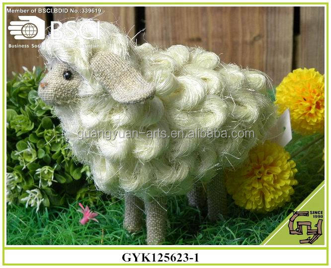 BSCI Christmas decorative crafts wooden sheep