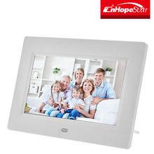 "Wedding photos display use 7"" inch led digital photo frame with ce & rohs approved"
