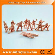 Customized toy soldier high-quanlity small plastic miniature human figure