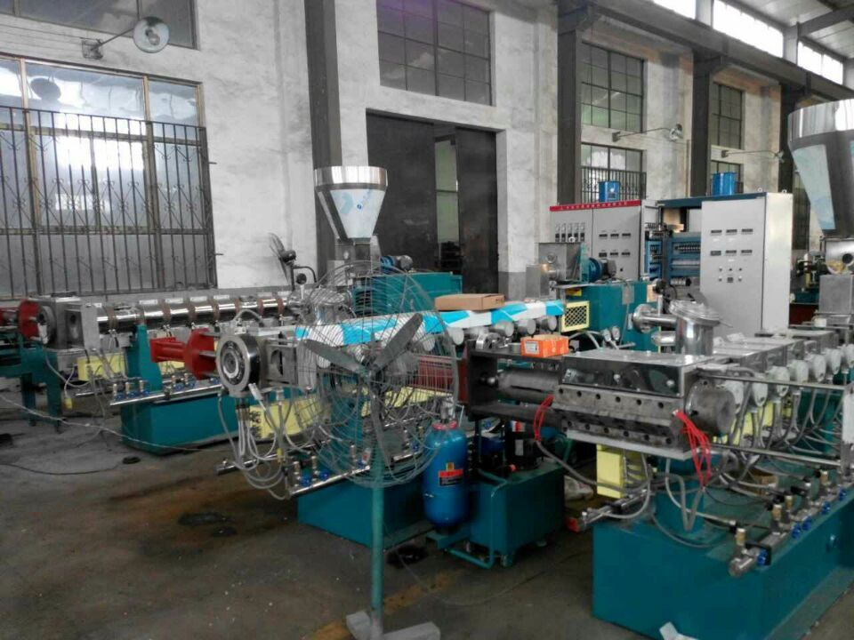 Twin Screw PVC Dual Line Rigid Pipe Making Machine