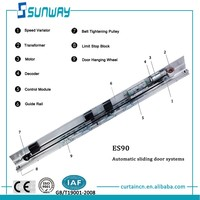 sliding door hardware ,stainless steel sliding door motor