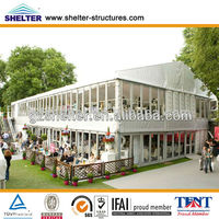 Shelter 25* 30m Inflat Double Deck Aluminium Event Tents