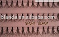Short Black Flare Pink Tray Lashes