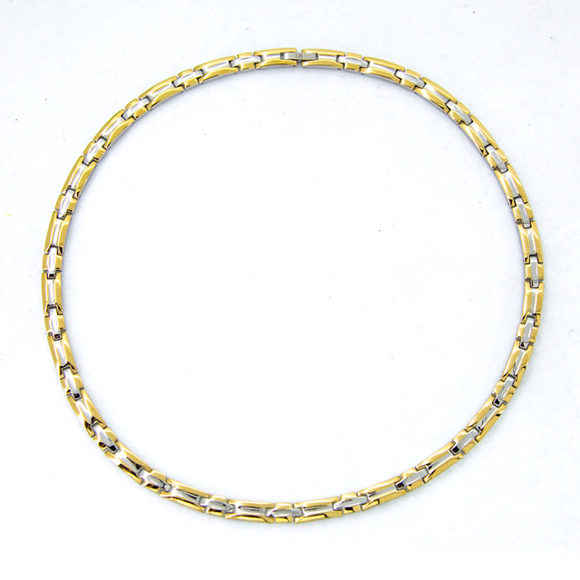 Fashion necklace 2018 in usa and korean gold silver women jewelry chain necklace