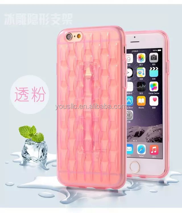 Slim Ultra Thin Crystal Clear Transparent Soft Silicon Tpu Case For IPhone6 6 Plus