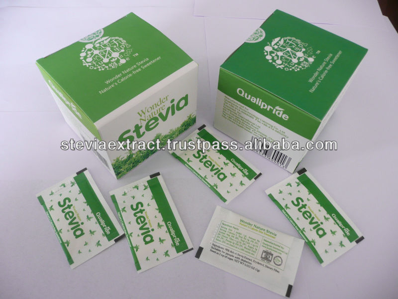 stevia sachet and stevia tablets, stevia sweetener