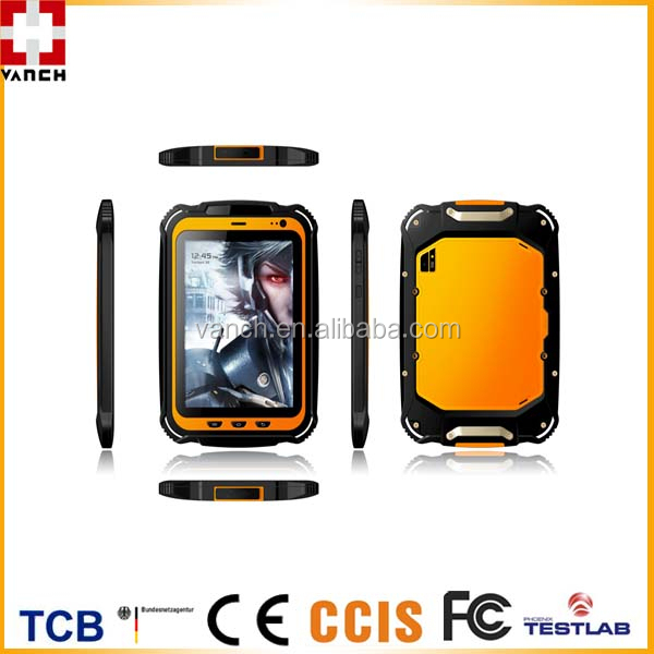 "IP67 waterproof 7"" android NFC/RFID tablet"