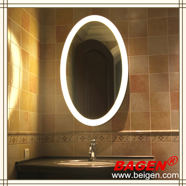 Oval Decorative Mirrors Lighting Vanity Mirror Bgl-002 Made In Shanghai China - Buy Oval ...