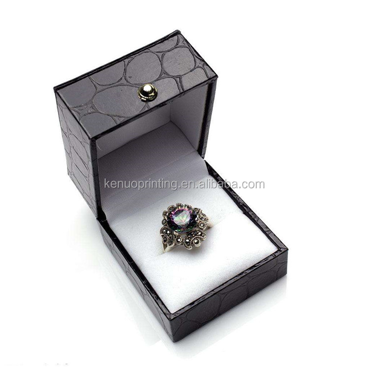 Luxury Ring Display Jewelry Packaging Box Elegant Jewelry Packaging Boxes For Ring