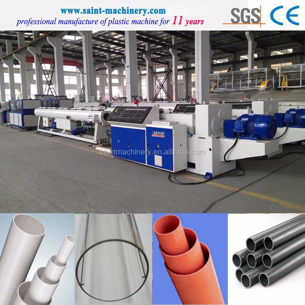 High Cost Performance gray pvc pipe making machine price
