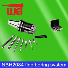 Good price boring range 8-280mm including 8 pcs boring bar NBH2084 series cylinder boring tool