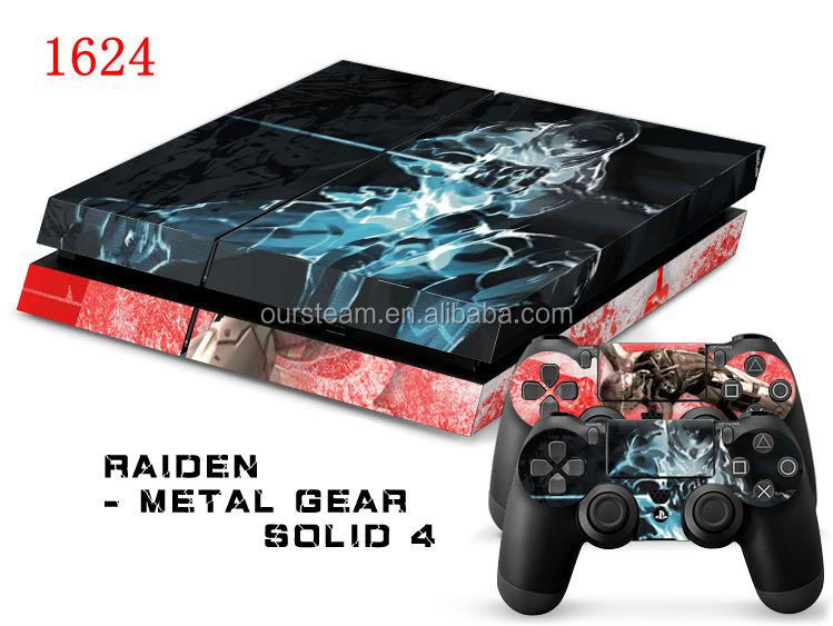 Wholesale Protective Decals Skin Cover For Ps4 For Play Station 4