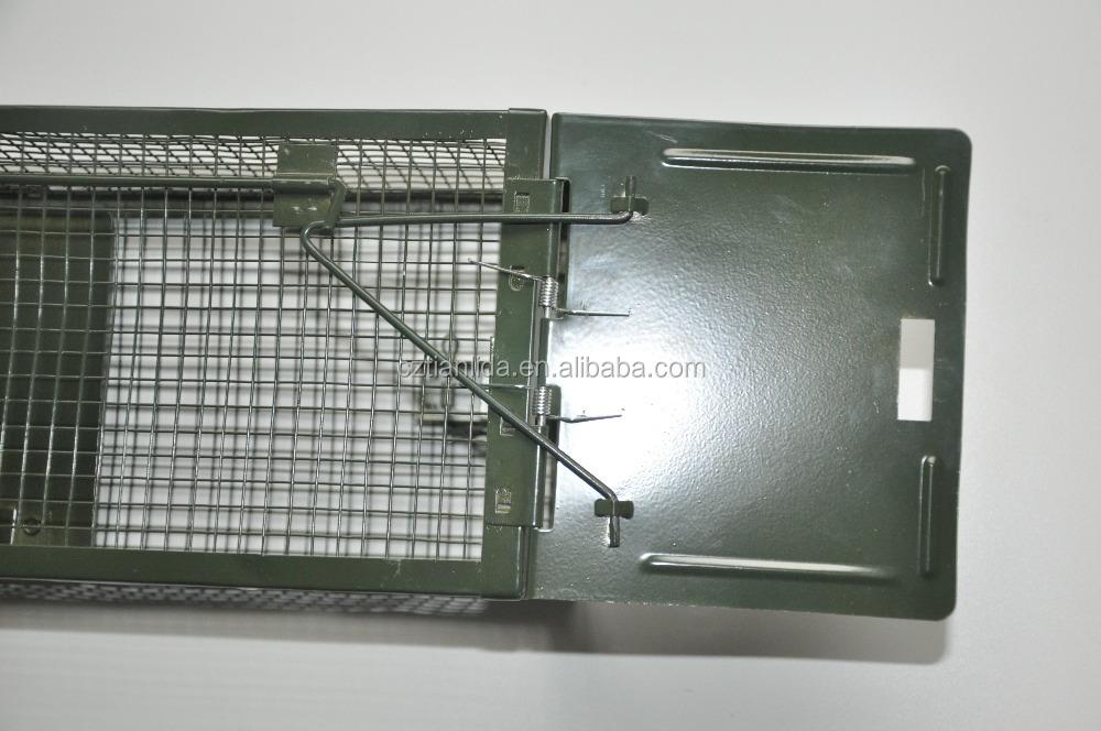 Dubbele deuren kooi rat val live catch rat vallen humane rat trap kooi amazon - Kooi trap ...