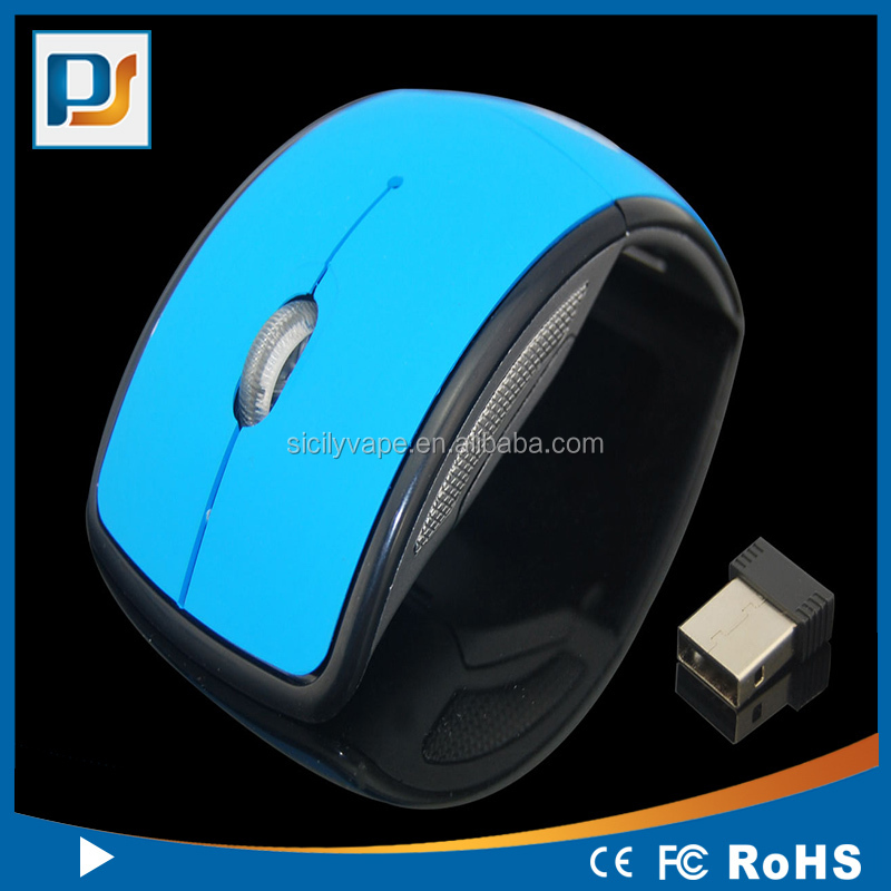 Folding Mouse with 2.4G USB Receiver, Foldable Wireless Optical Mice for Computer Accessories Lovely Mice