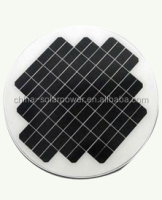 high efficiency 3W 5W solar panel 9V/12V/18V with CE & ROHS approval