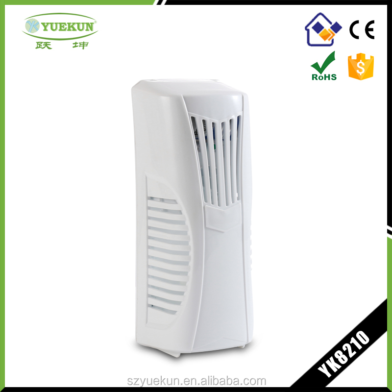 Wholesale best auto room air fragrance dispenser toilet electric untouch air purifier liquid essential fragrance diffuser YK8210