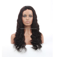 Remy Indian Human Hair Glueless Lace Front Wigs For Black Women