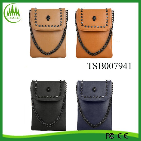 Hot Sale Wholesale Alibaba High Quality Fashion Skull Phone Bag