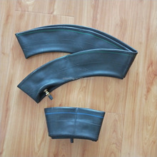 Factory price high quality 60/100-17, 70/90-17, 80/90-17, 80/100-17 butyl natural motorcycle inner tube